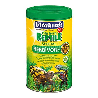 Vitakraft Alimento especial multi vitaminado para reptiles Tubo 1 l