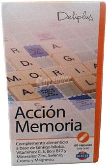 Deliplus Cápsulas acción memoria Bote 60 u