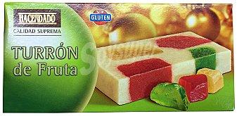 Hacendado Turrón fruta Pastilla 300 g