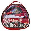Kit emergencia Tools: Cables, guantes, linterna, rasqueta, fusibles  RM