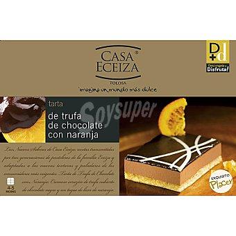 Casa Eceiza Tarta de trufa de chocolate con naranja Estuche 300 g