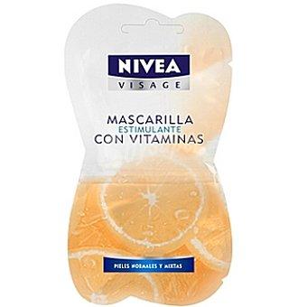 Nivea Mascarilla estimulante con vitaminas Visage Envase 15 ml