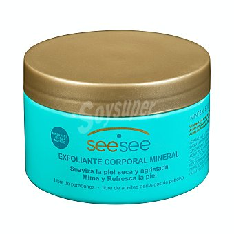 See see Exfoliante corporal con sales minerales del mar muerto Tarro 400 g