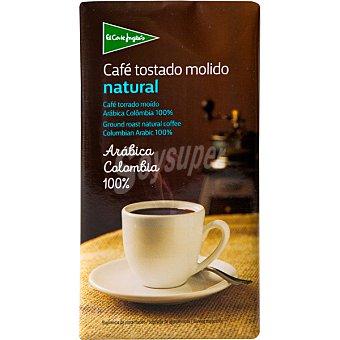 El Corte Inglés Café natural molido de Colombia  Paquete 250 gr
