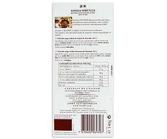 Lindt Petits Desserts Chocolate Relleno de Mousse Chocolate Negro 140g