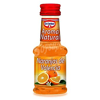 Dr. Oetker Aroma natural de naranjas de Valencia Bote 48 g