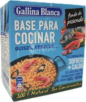 Gallina Blanca Base cocinar pescad 500 ML