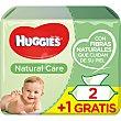 Toallitas infantiles Natural Care Pack 2 envases 56 unidades Huggies