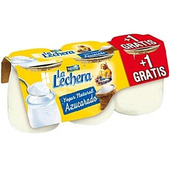 La Lechera Nestlé Yogur natural azucarado + 1 gratis Pack 2 unidades 125 g