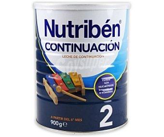 NUTRIBÉN Continuación Leche infantil de continuación 2, a partir del sexto mes 900 Gramos