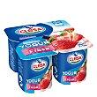 Yogur de fresa Pack 4 x 125 g Clesa