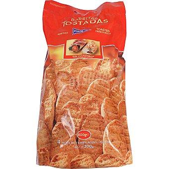 HIPERCOR barritas de pan tostadas bolsa 800 g