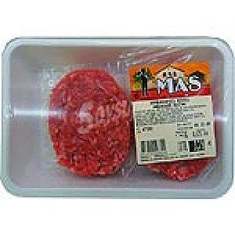 E.MAS Hamburguesas mixtas de añojo y cerdo peso aproximado bandeja 450 g 4 unidades