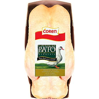 Coren Pato barberie bandeja 1 unidad peso aproximado 1,5 kg