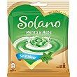 Caramelos sabor menta y nata sin azúcar y sin gluten Bolsa 99 g Solano