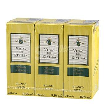 Vegas del Rivilla Vino blanco de mesa Pack 3x20 cl