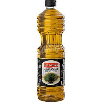 LOS ALCORES Aceite de oliva virgen extra botella 1 l 1 l