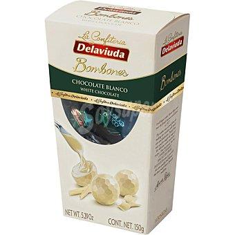 Delaviuda Bombones de chocolate blanco Estuche 150 g