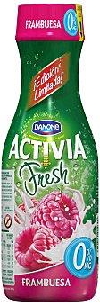 Activia Danone Yogur líquido de frambuesa 0% 550 g