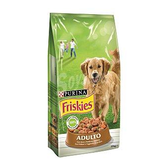 Purina Friskies Comida para perros Adulto con Aves y Verduras Bolsa 10 kg