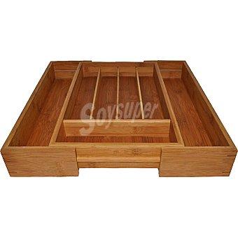 UNIT Cubertero extensible de bambu