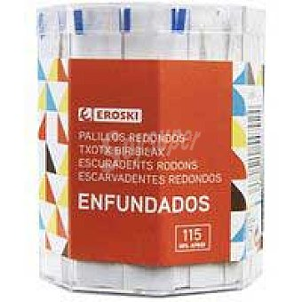 Eroski Palillos redondos enfundados 115 u