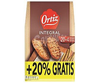 Ortiz Panecillos integrales tostados 225 gramos