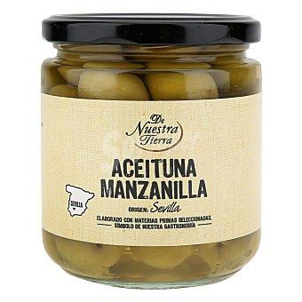 De nuestra tierra Aceitunas verdes manzanilla con hueso - De Nuestra Tierra 190 g