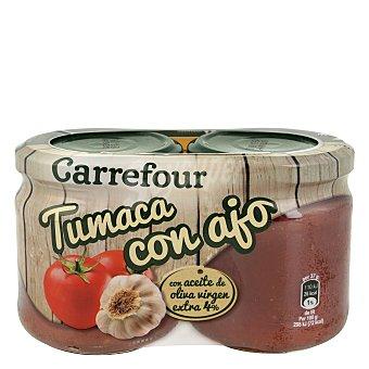 Carrefour Tumaca con ajo y aceite de oliva 370 g