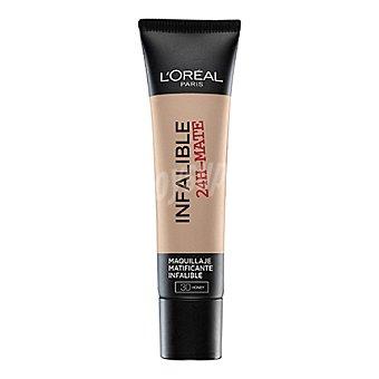 L'Oréal Base de maquillaje infalible 24h mate nº 030 1 ud