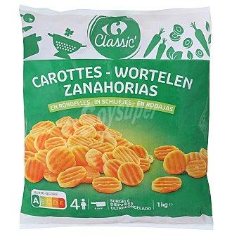 Carrefour Zanahorias en rodajas Carrefour Classic' 1 kg