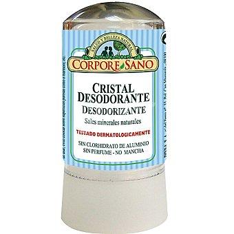 CORPORE SANO Desodorante cristal desodorizante con sales minerales naturales sistema roll-on envase 60 g Envase 60 g