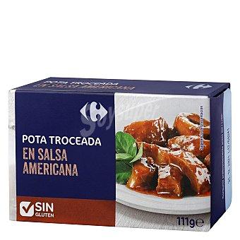 Carrefour Pota troceada en salsa americana 72 g