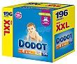 Caja de pañales de la talla 4 para niños de 8 a 14 kilogramos 196 uds Dodot