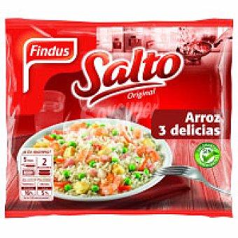 Findus Arroz 3 delicias tradicional Salto Bolsa 500 g