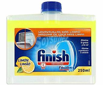 Finish Limpiamaquinas lavavajillas limón 250 ml