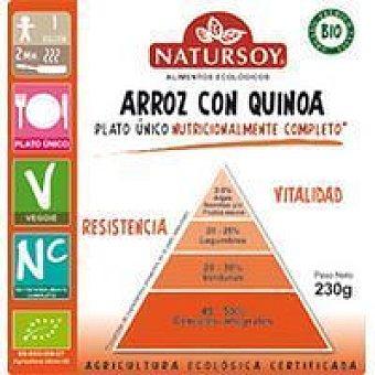 Natursoy Arroz con quinoa Caja 230 g