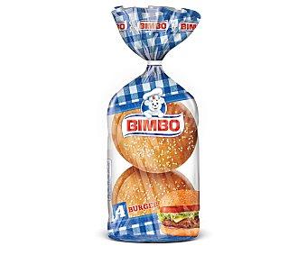 Bimbo Pan de hamburguesas 4 uds. 220 g