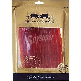 ARTESANOS DEL LONCHEADO Jamón curado Gran Selección en lonchas envase 150 g Envase 150 g