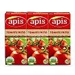 Tomate frito lote ahorro Pack 3 envase 400 g Apis