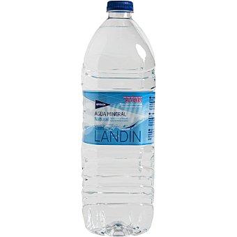 Hipercor Agua mineral natural de mineralización muy débil Botella 1,5 l