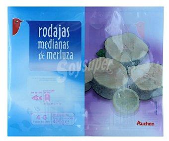 Producto Alcampo Merluza en rodajas medianas 400 gr