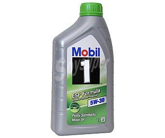 MOBIL Lubricante sintético para vehículos gasolina y diésel 1 Litro