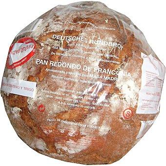 Naturpan pan redondo de Franconia de centeno y trigo Unidad 1000 g