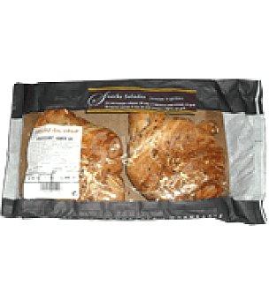 Croissant de jamón y queso Bandeja de 2 ud