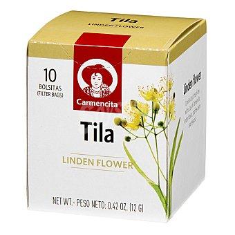 Carmencita Tila linden flower en Bolsitas 10 ud