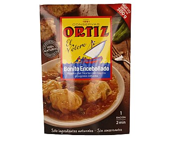 Conservas Ortiz Bonito del norte encebollado Sobre 300 g