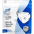 Mascarilla filtrante FFP2 NR protección 5 capas blanca Blister 1 unidad JU- E.FORTRESS