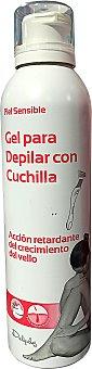 DELIPLUS Gel afeitar mujer piernas y axilas (verano) Paquete de 200 cc