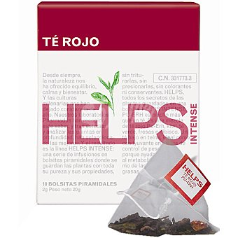 HELPS INTENSE té rojo Estuche 10 bolsitas